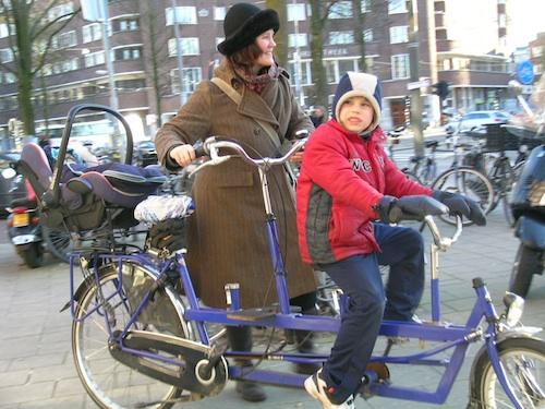 amsterdam bicicleta familie