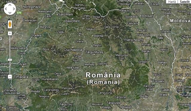 Harta Romaniei Din Satelit Online Michellegreen683k