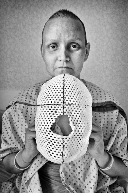 10-26-2011 Jen with radiation mask