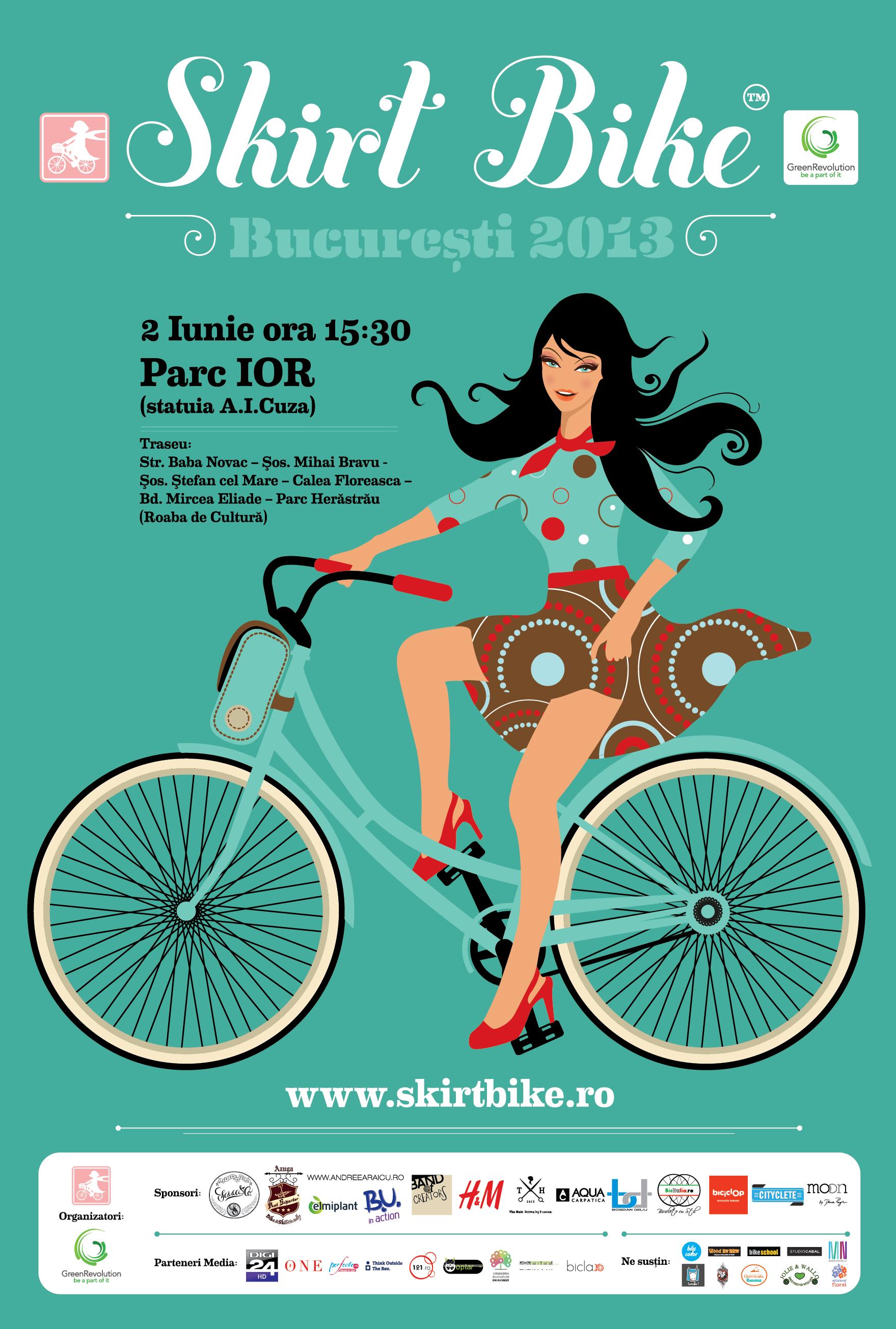 afis-SkirtBike-Bucuresti 2013