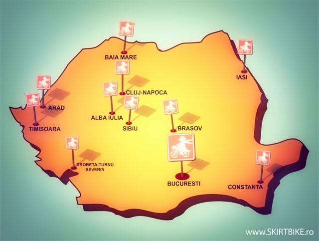 harta Skirtbike Romania