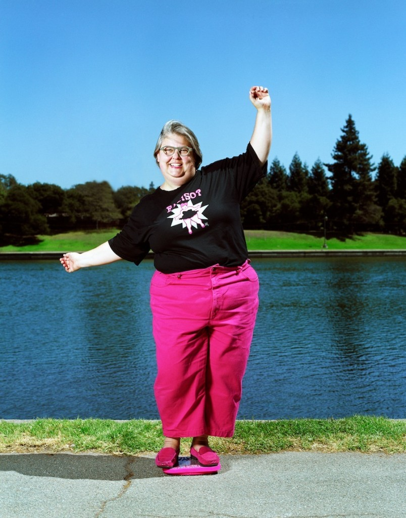 Marilyn Wann, queen of the modern American fat-pride movement.