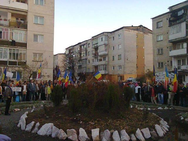 Protest Cu Incidente La Abrud