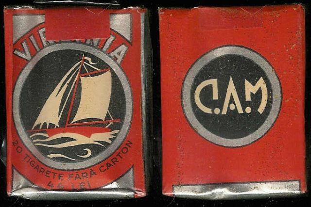33 FOTO Colecție de țigări românești: 1879 1989
