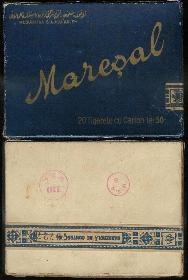 39 FOTO Colecție de țigări românești: 1879 1989