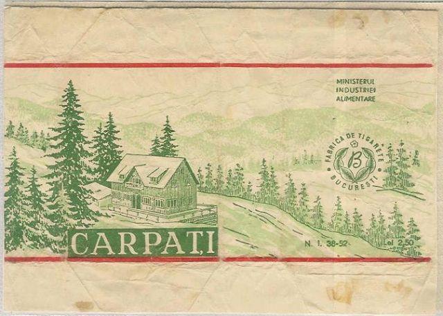 46 FOTO Colecție de țigări românești: 1879 1989