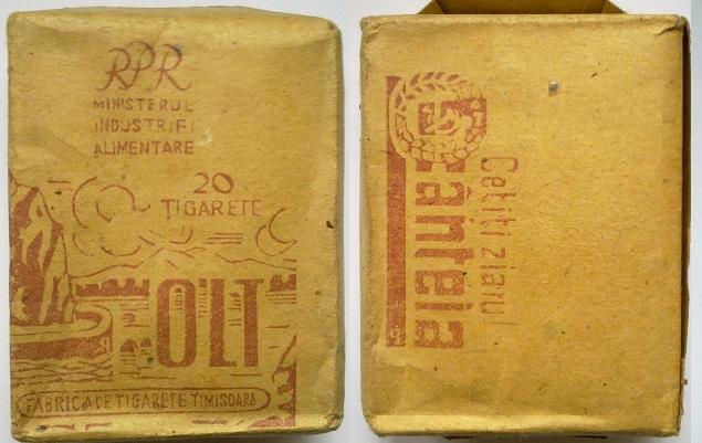 50 FOTO Colecție de țigări românești: 1879 1989