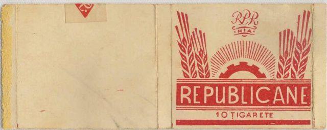 51 FOTO Colecție de țigări românești: 1879 1989