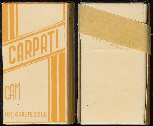 tigari16 FOTO Colecție de țigări românești: 1879 1989