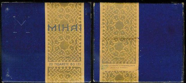 tigari22 FOTO Colecție de țigări românești: 1879 1989