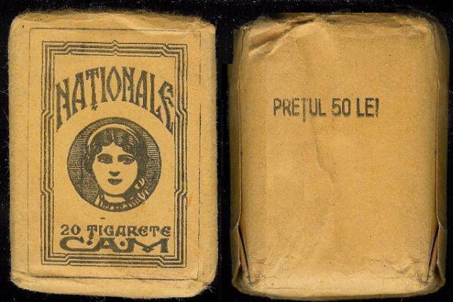 tigari24 FOTO Colecție de țigări românești: 1879 1989