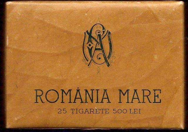 tigari28 FOTO Colecție de țigări românești: 1879 1989