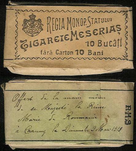 tigari3 FOTO Colecție de țigări românești: 1879 1989