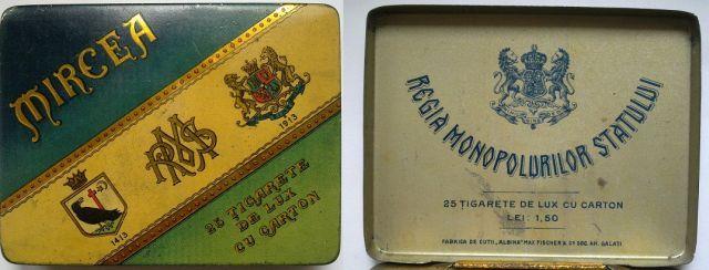 tigari4 FOTO Colecție de țigări românești: 1879 1989