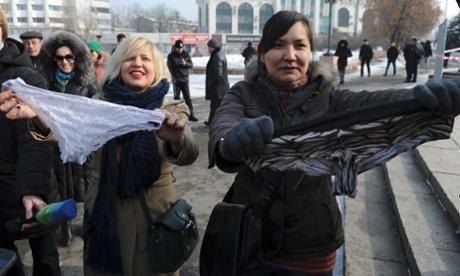 Kazakhstan Underwear Ban