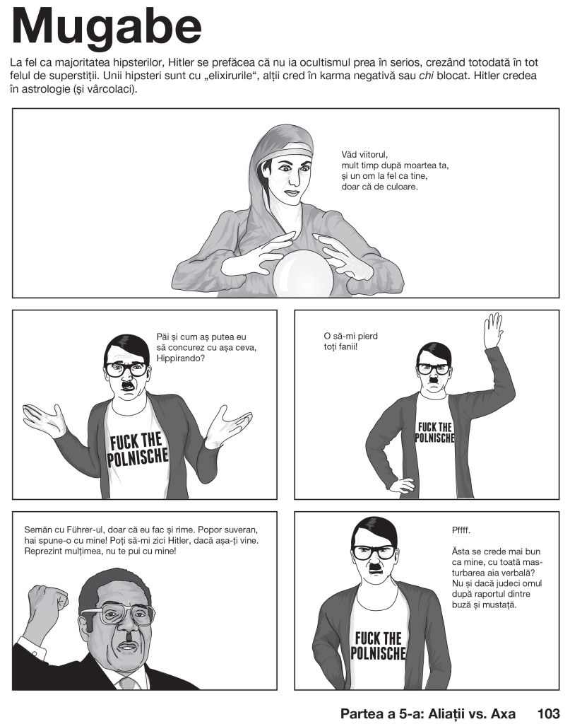 Hipster Hitler TIPO-10