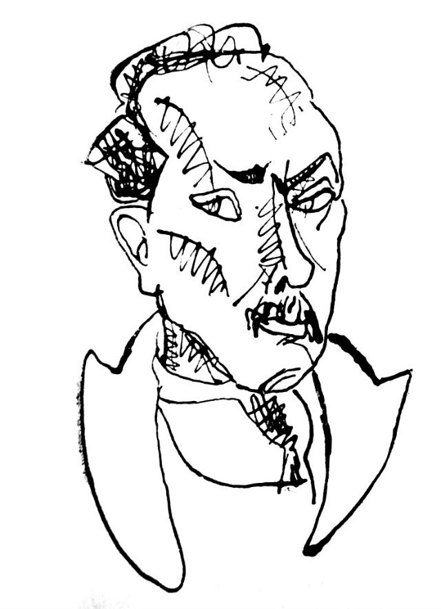 ion barbu de Marcel Iancu, 1925, dupa dezintoxicare