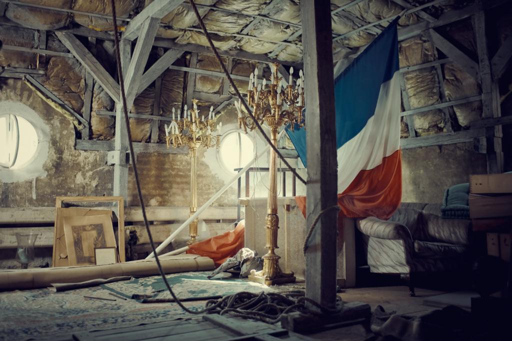 un loc in care mi-am  petrecut ceva timp, podul resedintei ambasadei Frantei