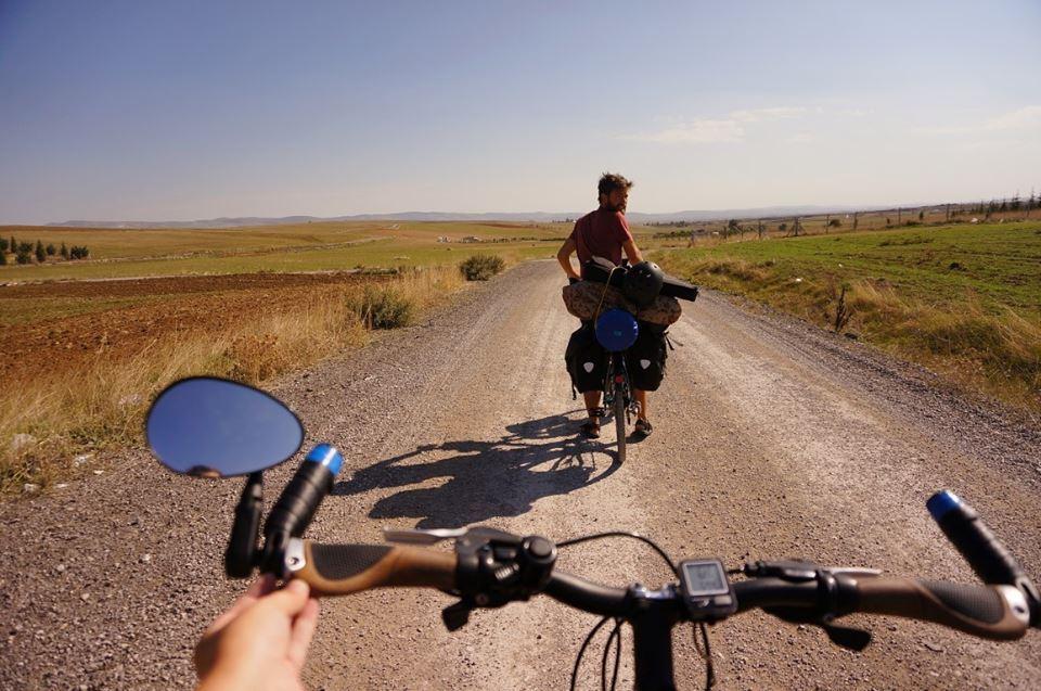 cu bicicleta in Turcia