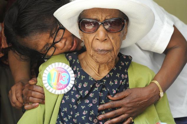 Susannah Mushatt Jones, în prezent cea mai bătrână femeie din lume