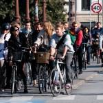VIDEO Cum arată ambuteiajele în Copenhaga