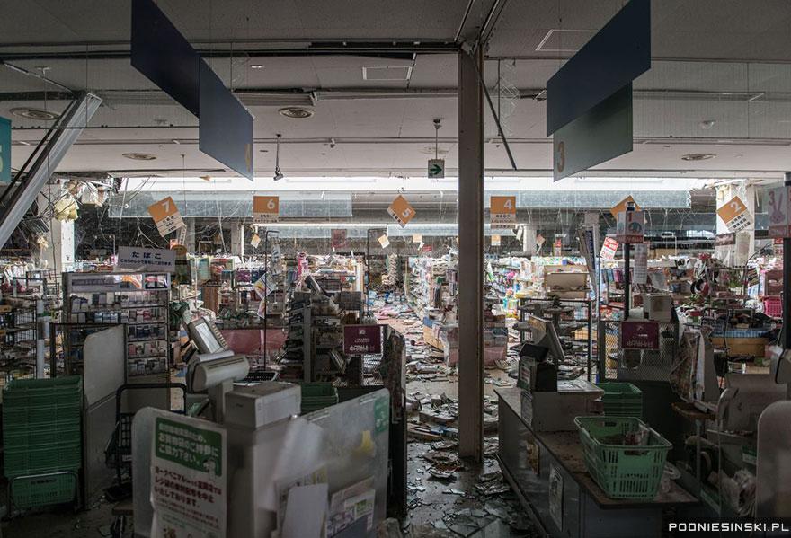 Acelaşi supermarket, într-o ipostază post-apocaliptică