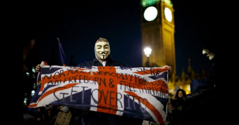 Londra. Foto: Huffington Post