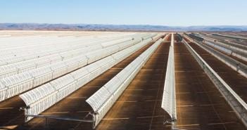 Oglinzile uzinei solare