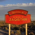 Un artist american şi-a creat propria ţară în deşertul Utah
