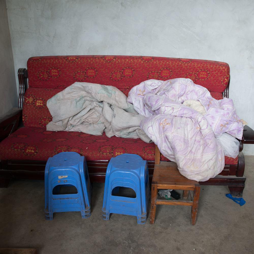 Canapeaua unei familii din China Canapeaua unei familii din China
