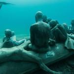 FOTO Primul muzeu subacvatic de sculptură din Europa