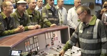 FOTO: Închiderea centralei Longannet/Captură video