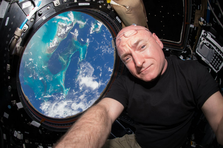 Scott Kelly. Foto: NASA