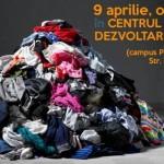 Atelier de reciclare a hainelor uzate