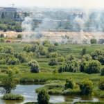 Trei incendii, în ultimele 48 de ore, în Parcul Natural ..