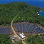 O insulă întreagă alimentată cu energie solară