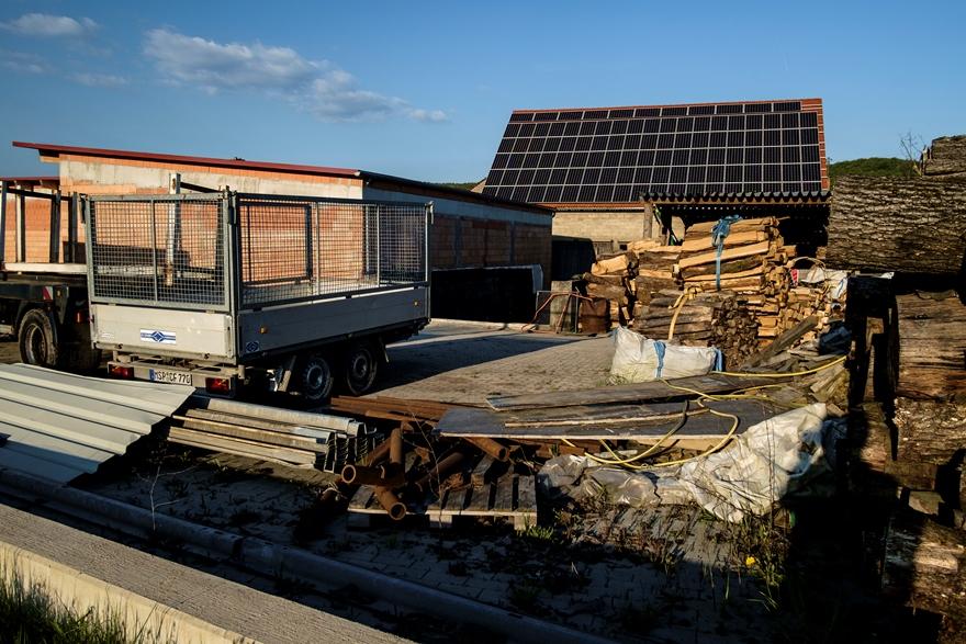 Solar Panels in Bavaria near Hammelburg