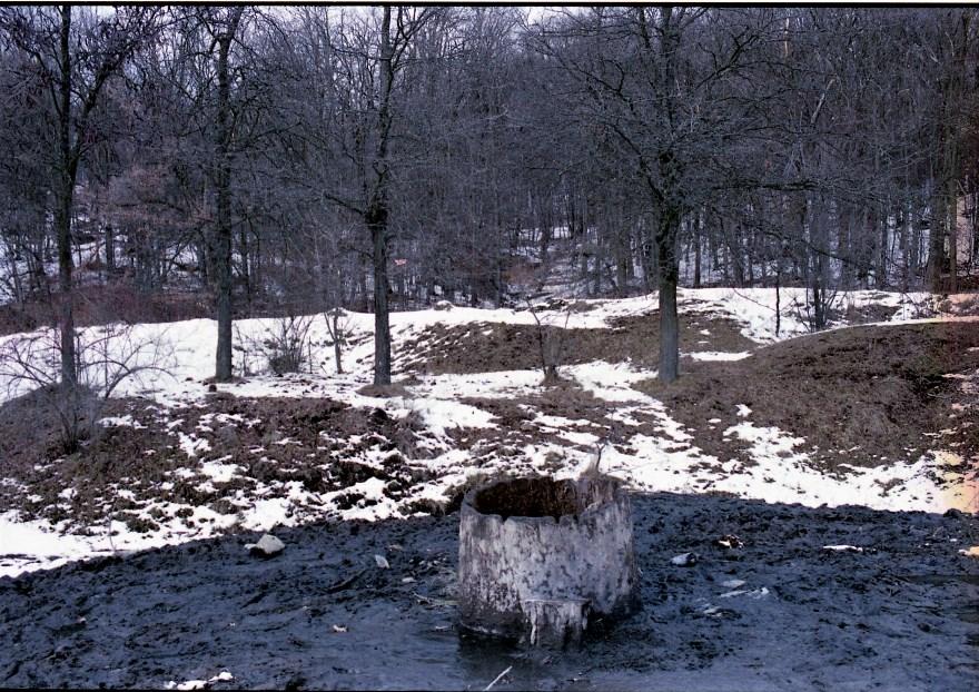 Izvorul de slatină are 8.000 de ani vechime. foto Mădălin Nicolaescu